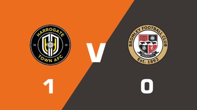 Highlights: Harrogate Town vs Bromley