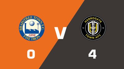 Highlights: Braintree Town vs Harrogate Town