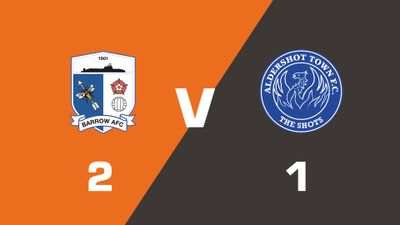 Highlights: Barrow vs Aldershot Town