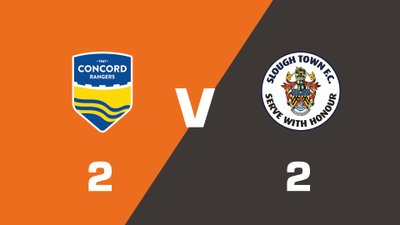 Highlights: Concord Rangers vs Slough Town