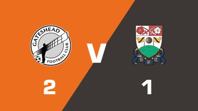 Highlights: Gateshead vs Barnet
