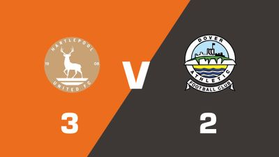 Highlights: Hartlepool United vs Dover Athletic