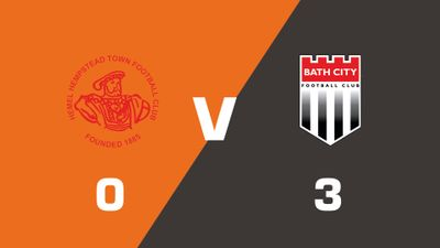 Highlights: Hemel Hempstead Town vs Bath City