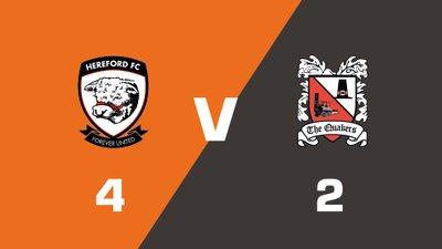 Highlights: Hereford vs Darlington