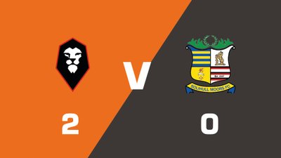 Highlights: Salford City vs Solihull Moors