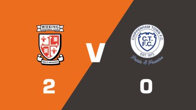 Highlights: Woking vs Chippenham Town
