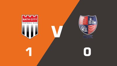 Highlights: Bath City vs Hampton & Richmond Borough