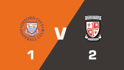 Highlights: Oxford City vs Woking