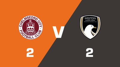 Highlights: Chelmsford City vs Weston-super-Mare AFC