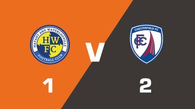 Highlights: Havant & Waterlooville vs Chesterfield