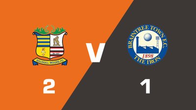 Highlights: Solihull Moors vs Braintree Town