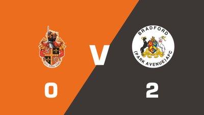 Highlights: Spennymoor Town vs Bradford (Park Avenue)