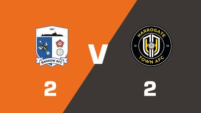 Highlights: Barrow vs Harrogate Town