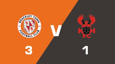 Highlights: Brackley Town vs Kidderminster Harriers