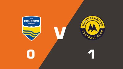 Highlights: Concord Rangers vs Torquay United