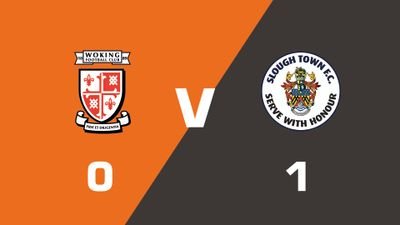 Highlights: Woking vs Slough Town