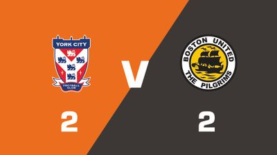 Highlights: York City vs Boston United