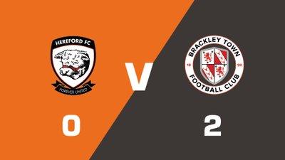 Highlights: Hereford vs Brackley Town