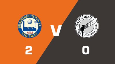 Highlights: Braintree Town vs Gateshead