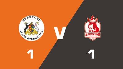 Highlights: Bradford (Park Avenue) vs Alfreton Town
