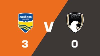 Highlights: Concord Rangers vs Weston-super-Mare AFC
