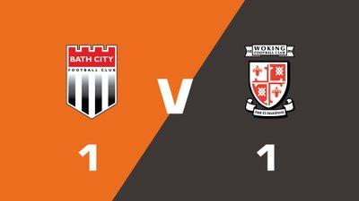 Highlights: Bath City vs Woking