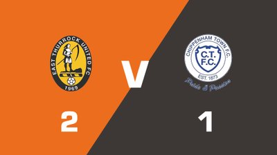 Highlights: East Thurrock United vs Chippenham Town