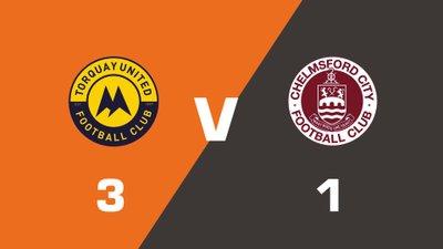 Highlights: Torquay United vs Chelmsford City