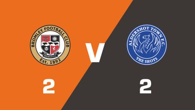 Highlights: Bromley vs Aldershot Town