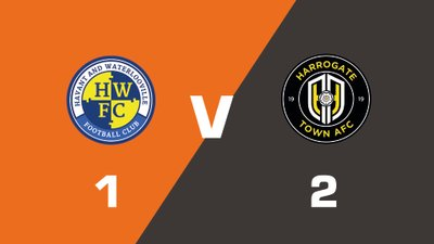 Highlights: Havant & Waterlooville vs Harrogate Town