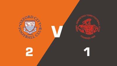 Highlights: Oxford City vs Hemel Hempstead Town