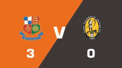 Highlights: Wealdstone vs East Thurrock United