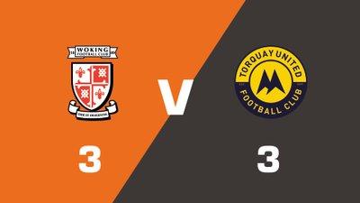Highlights: Woking vs Torquay United