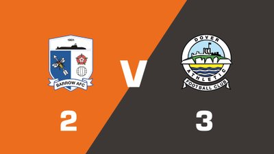 Highlights: Barrow vs Dover Athletic
