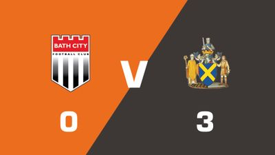 Highlights: Bath City vs St Albans City