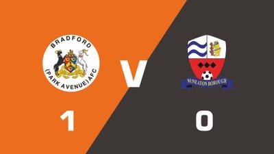 Highlights: Bradford (Park Avenue) vs Nuneaton Borough