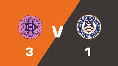 Highlights: Dulwich Hamlet vs Hungerford Town