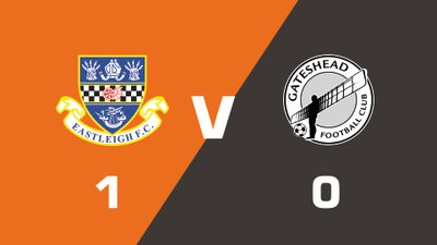 Highlights: Eastleigh vs Gateshead