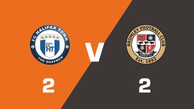 Highlights: FC Halifax Town vs Bromley