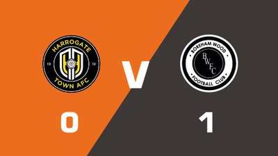 Highlights: Harrogate Town vs Boreham Wood