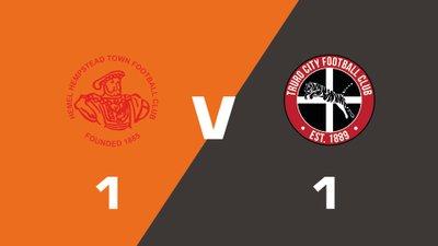 Highlights: Hemel Hempstead Town vs Truro City
