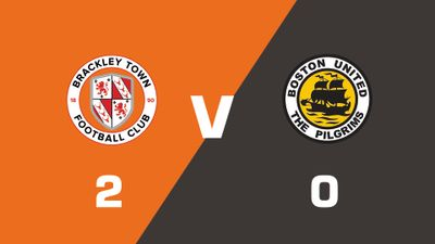 Highlights: Brackley Town vs Boston United