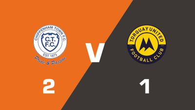 Highlights: Chippenham Town vs Torquay United