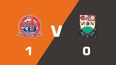 Highlights: AFC Fylde vs Barnet