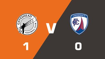 Highlights: Gateshead vs Chesterfield