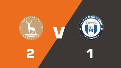 Highlights: Hartlepool United vs FC Halifax Town