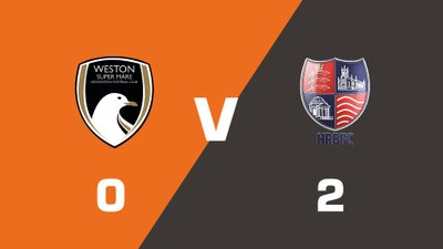 Highlights: Weston-super-Mare AFC vs Hampton & Richmond Borough