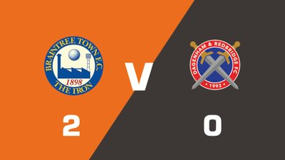 Highlights: Braintree Town vs Dagenham & Redbridge