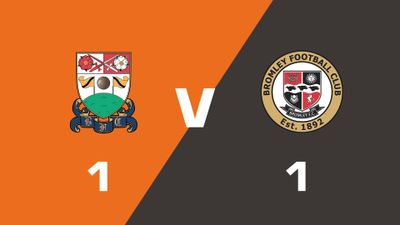 Highlights: Barnet vs Bromley