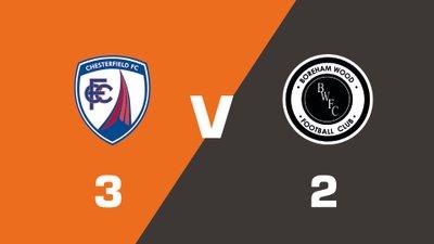 Highlights: Chesterfield vs Boreham Wood